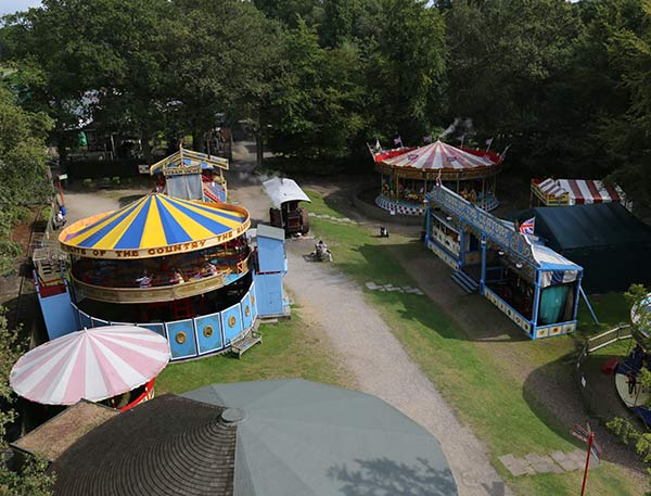Old fashioned fun at Hollycombe Steam Funfair
